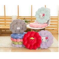 40CM 3D Flower Shape Sofa Soft Cushion Toy Doll Car Headrest Gift Birthday Decorative Pillows Hot
