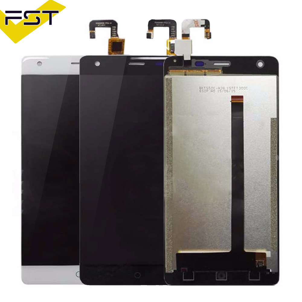 100% Tested Well For Ulefone power LCD Display With Touch Screen Digitizer Glass Sensor Assembly 5.5