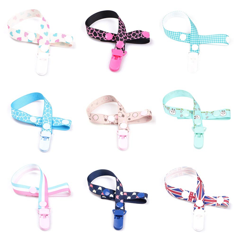 Lanyard Boy Girl Gifts Pacifier Clips Nipple Holder Soother Chain Teether Strap