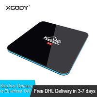 DHL Free Shipping XGODY R Box Pro Smart TV Box Android 7 1 Nougat Amlogic S912