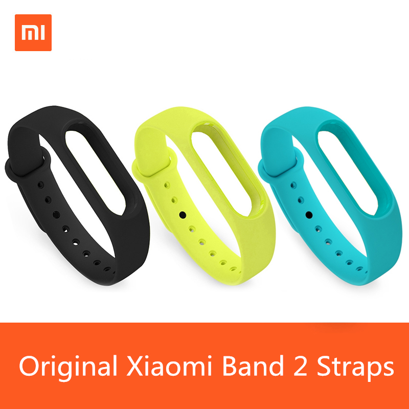 Silicone Original Xiaomi Wrist Strap Wristband Bracelet Watchband For Xiaomi Band 2 Miband Mi Band Ban 2 Charge Cable Black