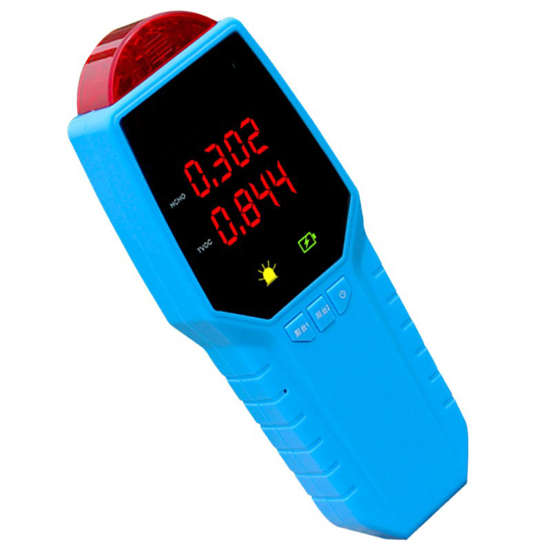 TVOC measured formaldehyde detector household indoor air quality testing instrument self testing pollution free shipping