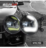 High Quality LED Round Daytime Driving Running Light DRL For Toyota Urban Cruiser Car Fog Lamp