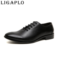 2015 New Spring Autumn Men Leather Shoes Pointed Toe Patent Leather Shoes Business Casual Leather Shoes