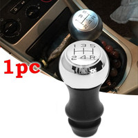 High Quality 5 Speed Aluminum Alloy MT Gear Stick Shift Knob For Peugeot 106 206 207