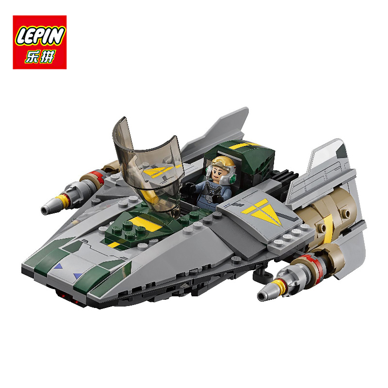 LEPIN 05030 722Pcs Star Wars Vader Tie Advanced VS A-wing Starfighter 75150 Building Blocks Toy Compatible with STAR WARS Gift lepin 05040 y attack starfighter wing building block assembled brick star series war toys compatible with 10134 educational gift
