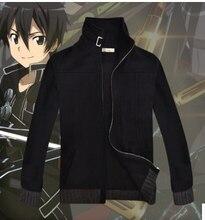 New Arrivel Sword Art Online 2 Kirito cosplay  Coat  Jacket cosplay costume