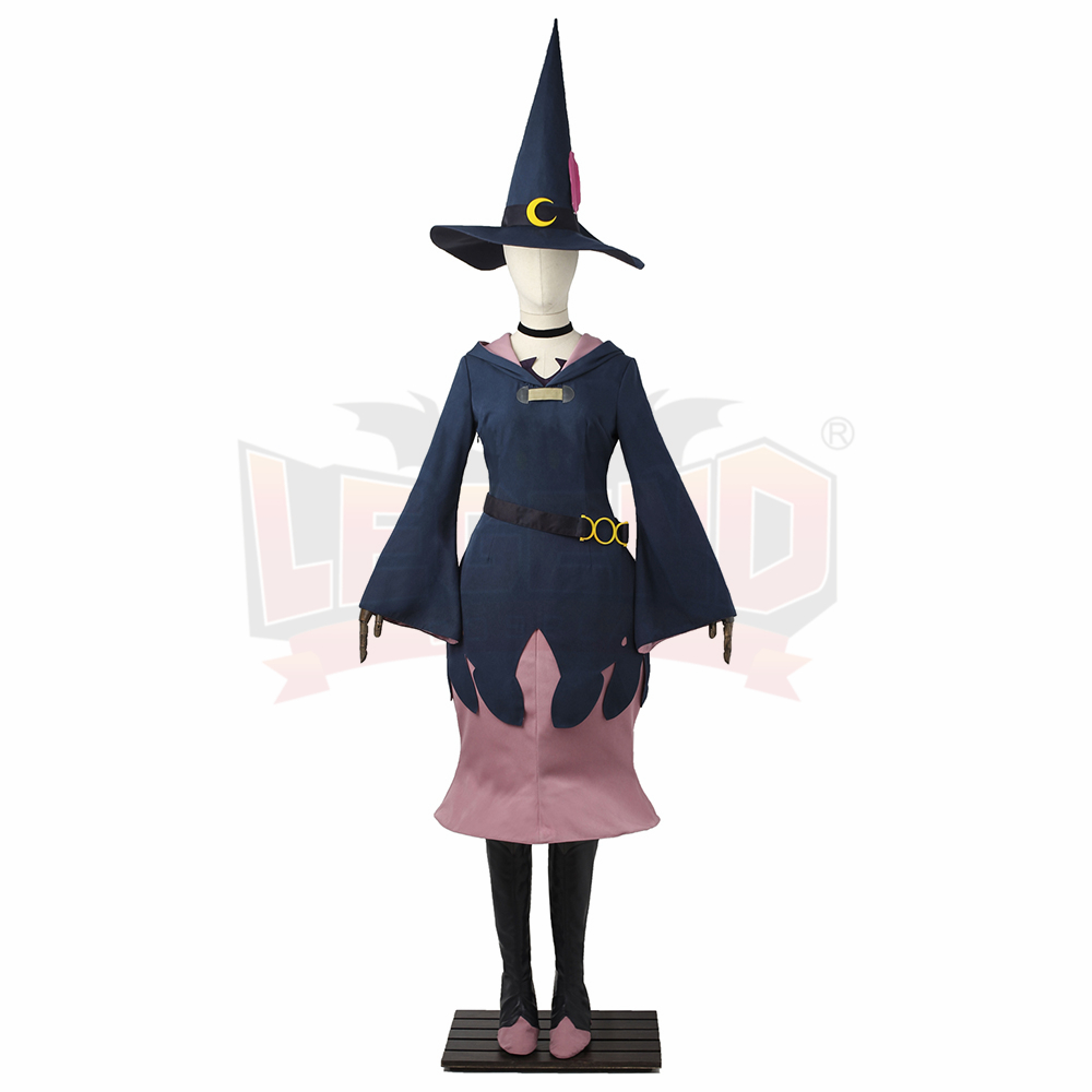 Cosplaylegend Little Witch Academia Professor Ursula Witch Dress Outfit Halloween cosplay costume halloween women costume