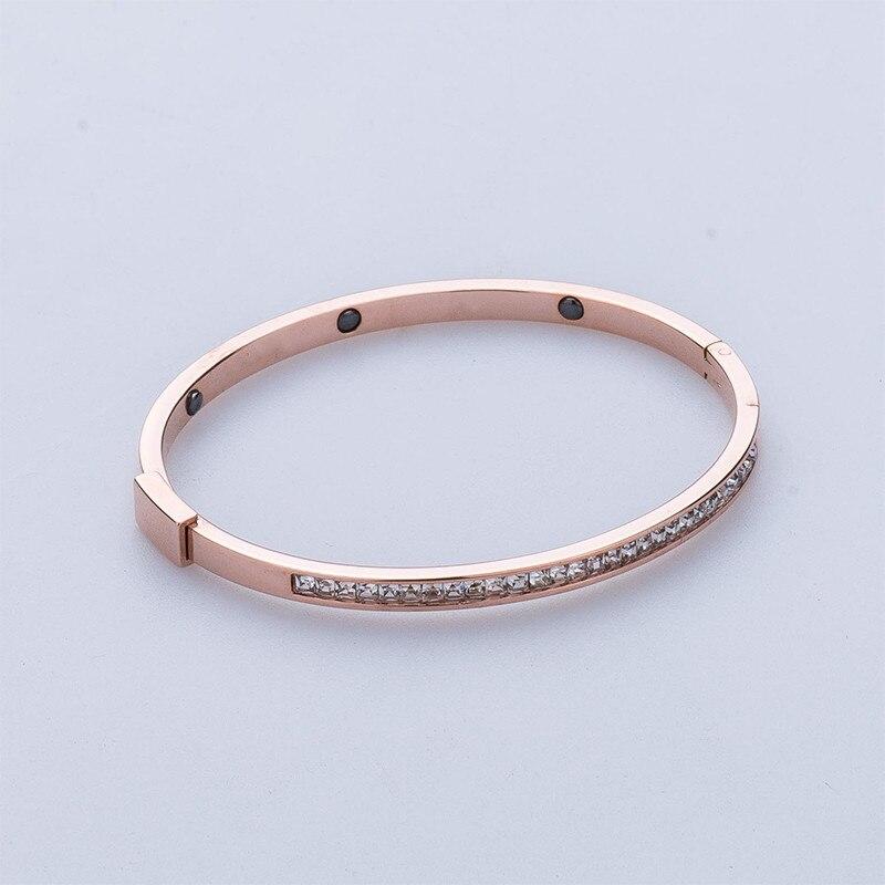 Наручные браслет Titanium браслет из нержавеющей стали ювелирных украшений для женщин вакуум покрытие браслет наивысшего качества