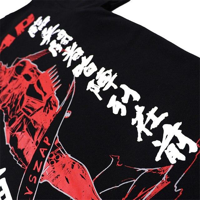 VSZAP Ninja Tshirts Men Fitness Sanda Japan Tide Brand Tee Shirt Sporting Workout MMA Fighting Martial Arts UFC Fight
