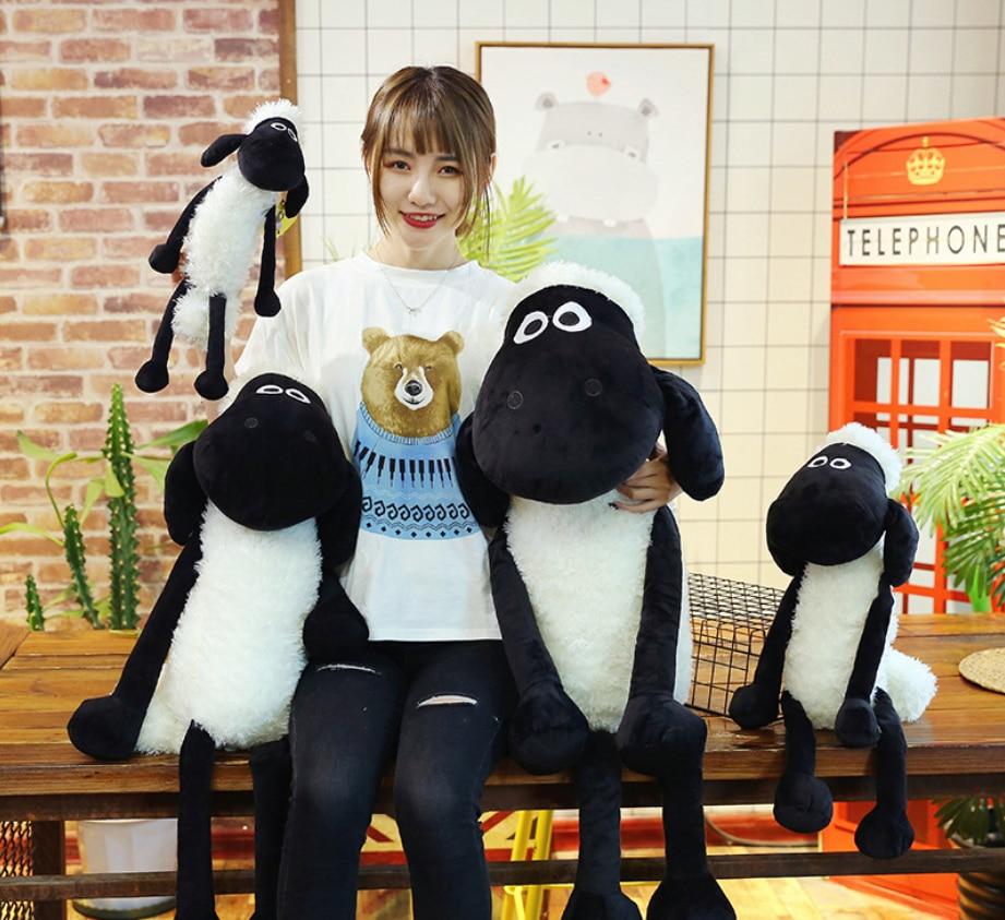 Hot Sale Plush Toys Stuffed Cotton Animal Sheep Shaun Plush Dolls Valentine's Day Toys For Children Gifts 25-70cm