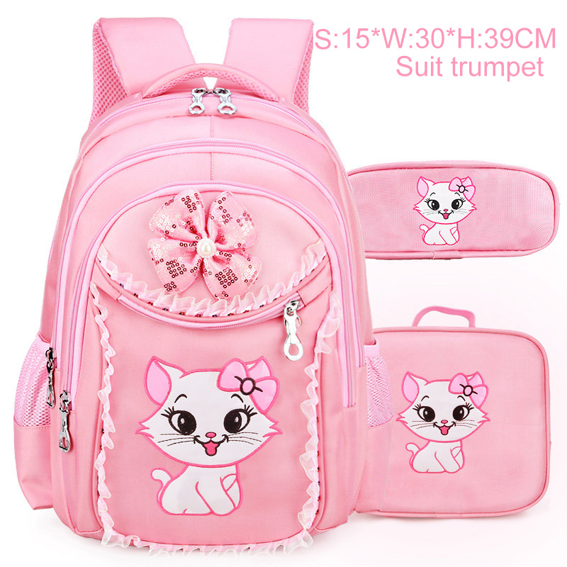 Super Sale 32e4 Princesse Chat Enfants Sac à Dos Sacs D