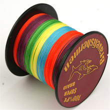 4Strand Braided Fishing Line Multifilament For Fishing 500m PE Strong Fluorocarbon Fishing Gear Size 6LB-80LB