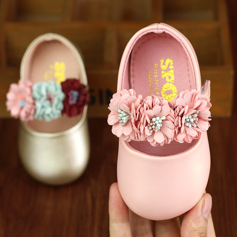Baby Toddler Shoes Spring And Autumn 0-6-12 Months Baby Princess Leather Shoes Toddler Girl Shoes