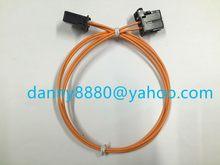 Бесплатная доставка, оптоволоконный кабель для большинства кабелей 90-100 см для BMW, для BMW, для автомобиля, с Bluetooth, GPS, для nbt, cic, 2g, 3g, 3g +