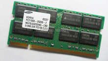 Pour Samsung 512 MB 1 GB DDR 266 PC2100 broches 266 MHz SODIMM mémoire d'ordinateur portable 200-pin SO-DIMM DDR RAM pc portable mémoire