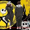 Кошмар Перед Рождеством Джек Руно Косплей Костюм Партии Пижамы Onesies Пижамы Хэллоуин Необычные Платья Цельный