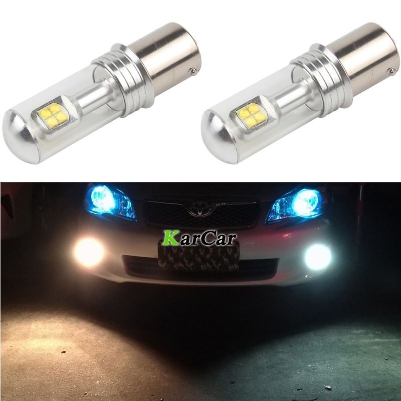 2x 40W CREE Chip XBD 572LM 1003 LED Reverse Bulb 12V 7506 1141 Backup Lamp 1156 LED Tail Bulb P21W Stop Lamp BA15S Parking light 2pcs 1156 60w car reverse light ba15s with cree xbd chip led parking lamp p21w backup light for vw golf polo 12v 24v