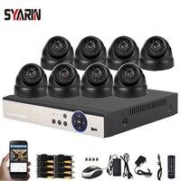 8CH CCTV Security Camera System HD 4MP AHD DVR 8PCS 4 0MP Outdoor Dome CCTV Camera