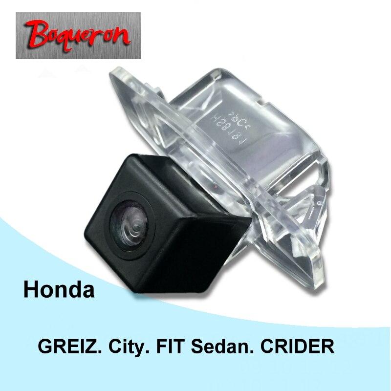 Boqueron para Honda Greiz City fit sedán Crider 13 ~ 16 impermeable del  coche del CCD de Sony impermeable que invierte la cámara trasera reversa  cámara de ... 83ea6afa5a4