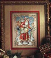 Needlework DIY Cross Stitch Sets For Embroidery Kits 11CT 14CT Santa Claus Presents Gifts