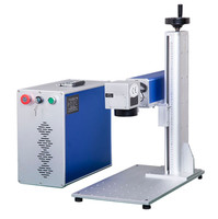 good price high quality 10w 20W Mopa fiber laser color laser marking machine for colorful marking