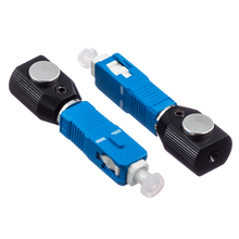 10Pcs/Lot,SC Flange Fiber Round Type Bare Optic Adapter,Fiber SC Adapter