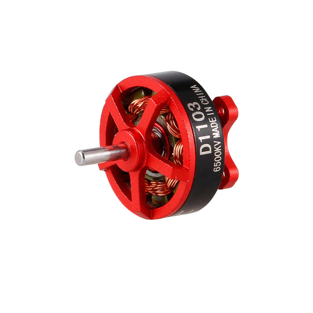 Оригинал goolrc D1103 6500KV набор с бесщеточным двигателем, на рост от 80 90 100 крошечный микро FPV гоночный Дрон Квадрокоптер вертолет моторы DR с жесткими защитными