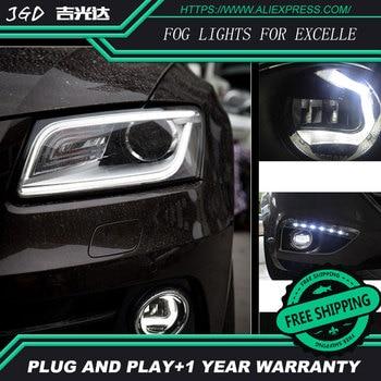 For Buick EXCELLE LR2 Car styling front bumper LED fog Lights high brightness fog lamps 1set