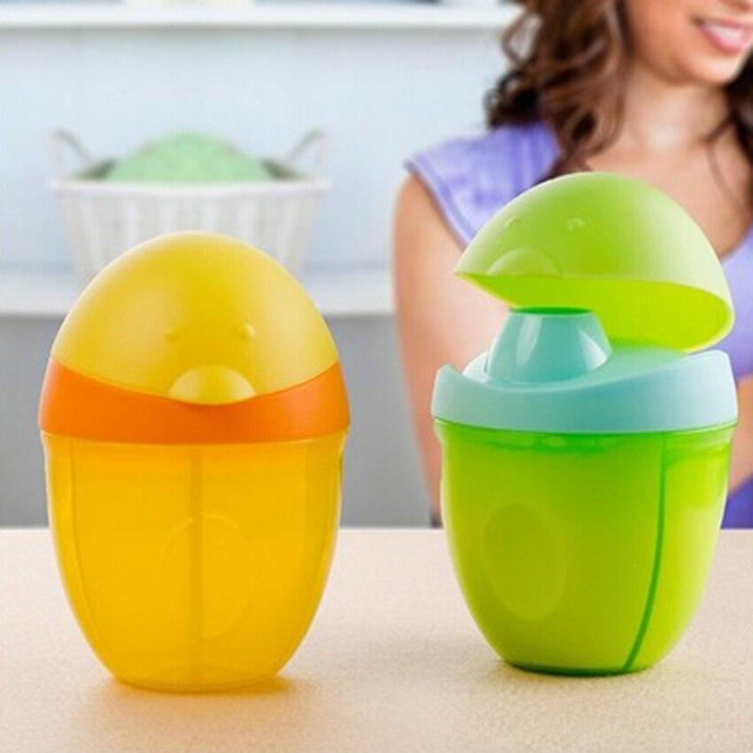 Leuke ontwerp drie rooster melkpoeder formule Dispenser Container babyvoeding opslag reizen vakken 3 kleuren beschikbaar