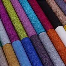 ФОТО 5m x 69cm fashion glitter wallpaper colorful flash wall covering home decor solid color sparkly living room store art wallpaper