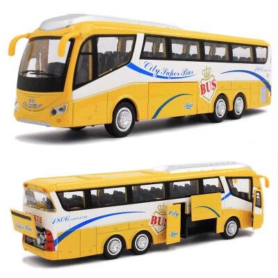 Autobuses Turísticos de Aleación Modelo de Coche Diecast Tire 1:48 el envío libr