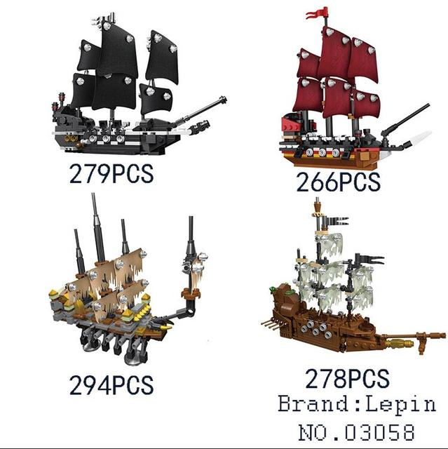 Model building kits compatible with lego Pirates of the Caribbean ...
