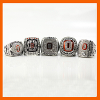 2002 2008 2009 2014 2014 OHIO STATE BUCKEYES FOOTBALL BIG TEN CHAMPIONSHIP RING US SIZE
