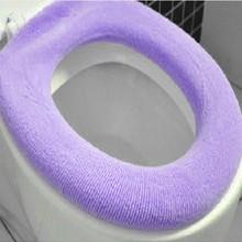 Теплый мягкий чехол для унитаза, накладка на сиденье, ванна унитаз, протектор, аксессуары для ванной комнаты, набор, чехол для унитаза, коврик