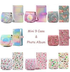 Image 1 - Fujifilm Instax Mini 9 8 Camera Case with 96 Pockets 3 Inch Mini Film Photo Album Book Instant Camera Accessories