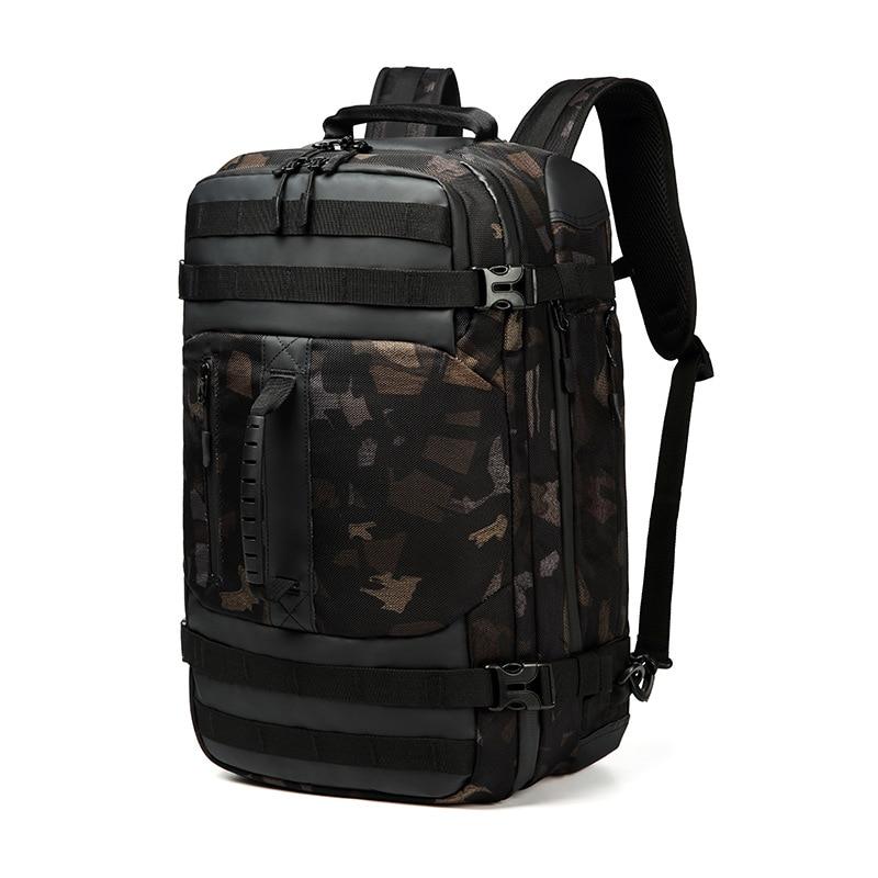 OZUKO Brand Man Backpack Travel Bags Male Camouflage Large Capacity Waterproof Black Backpack Laptop Bag QualityOZUKO Brand Man Backpack Travel Bags Male Camouflage Large Capacity Waterproof Black Backpack Laptop Bag Quality
