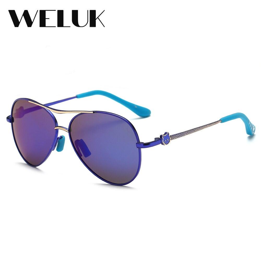 2b5450203227 WELUK Classic Luxury Brand Designer Children Wear Sunglasses Boys Girls  Outdoor Eye Wear 4 12 Years Old Polarized Oculos UV400-in Sunglasses from  Mother ...