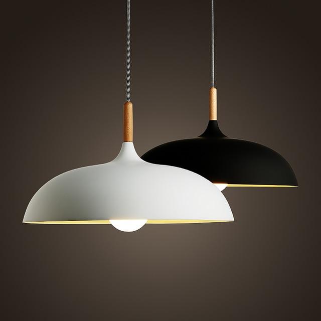 Nordeuropa Japan Stil Pendelleuchte Einfache Moderne Holz Kunst Lampe Haus Esszimmer Wohnzimmer Beleuchtung AC110V