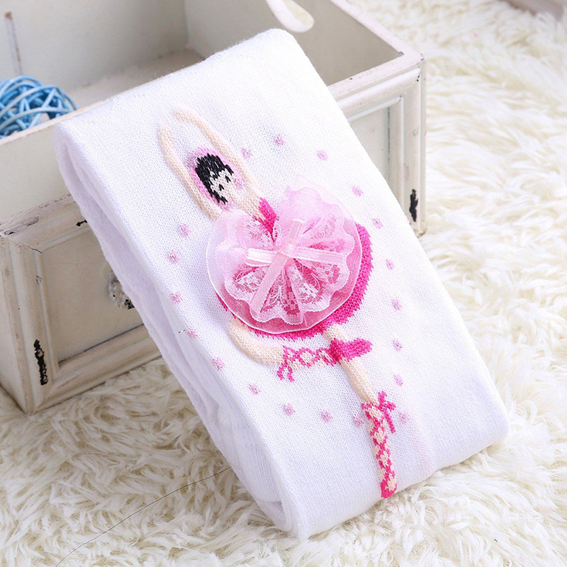 Children Pantyhose Baby Dolls Girls Ballet Dance Kids Girls Tights Cute Lace Girl Velvet Magic Stocking Baby Girls Tights D15 rib knit tights