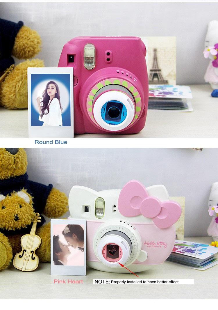 aeProduct.getSubject()  Fujifilm Instax Mini eight 7S eight+ Instantaneous Digicam Colourful Filters Digicam Shut Up Lens HTB1CE04fx3IL1JjSZPfq6ArUVXap