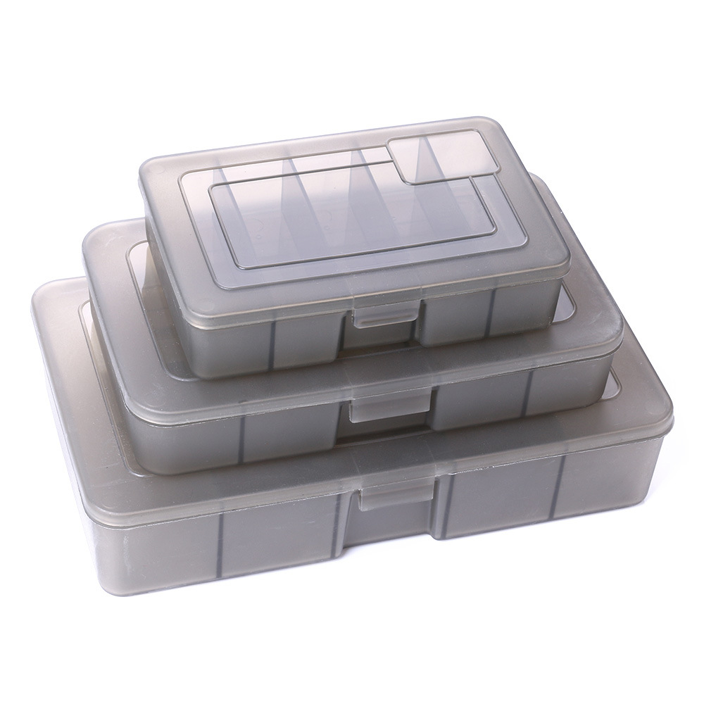 23*14*5cm Fishing Lure Box Single Side Accessories Storage Case S/M/L Size 5 Compartments Tackle Container