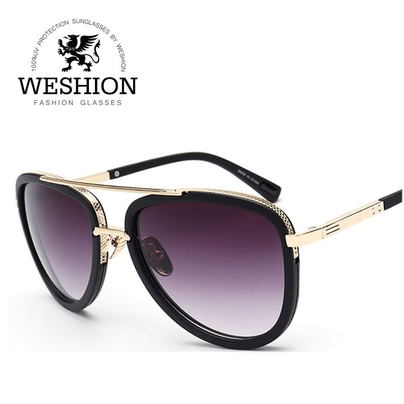 2017 Aviator Men Women Sunglasses Gradient Reflective Coating Mirror Alloy Frame Glasse Brand Designer Oculos De Sol With Cloth