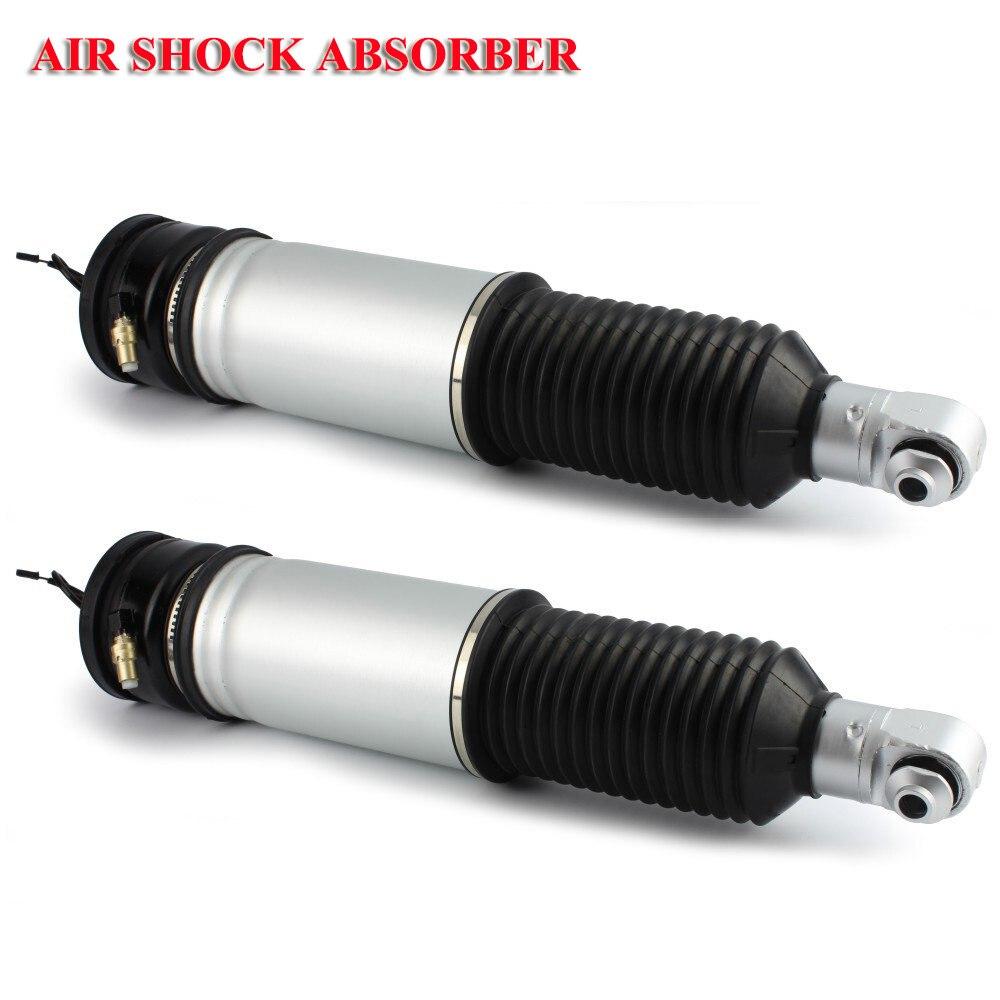 Rear Pair Air Suspension Shocks For BMW E65 E66 745i 750i 745Li 750Li 760Li