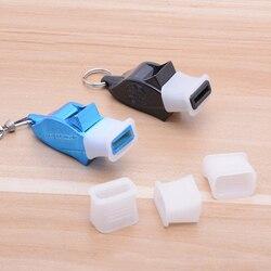 20 pçs/lote alta qualidade transparente protetor bucal, apito profissional, para fundir/matanga golfinho apito