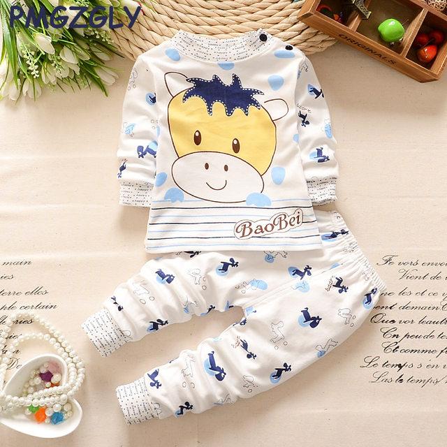 Online Shop Cotton Sleepwear For Girl Baby Sleep Set 0-5 yrs ...