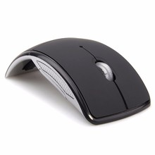 MEMTEQ Wireless Mouse 2.4Ghz Computer Mouse Foldable Travel Notebook Mute Mouse Mini Mice USB Receiver for Laptop PC Desktop