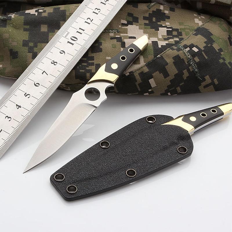 Doprava zdarma nový produkt Venkovní nůž na nářadí malý rovný nůž náhrdelník divoký sebeobrana klíčový nůž