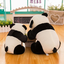 Decorative Pillow For Chairs 55 Cm Panda Seat Back Cushions For Sofa Cute Floor Home Decor Plush Giant Small Stuffed Animals Toy donkey giant stuffed animals pillow cushions plush toys the best gift for kids free shipping 90 cm