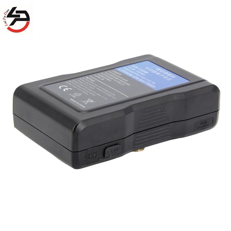 LPD 14.8 V 150Wh AN-150W 100% tout nouveau remplacement caméra batterie diffusion caméscopes avec sortie USB pour Sony BL-BP150 BP-150S